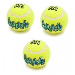 Pelota de tenis c/sonido ext. chica 3 pzs